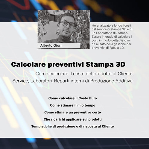 Come Calcolare un Preventivo di Stampa 3D