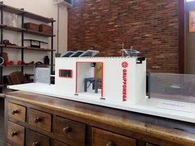 progetto riproduzione modellino plastico