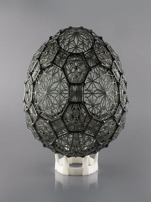 Uovo in resina 3D Shape Design