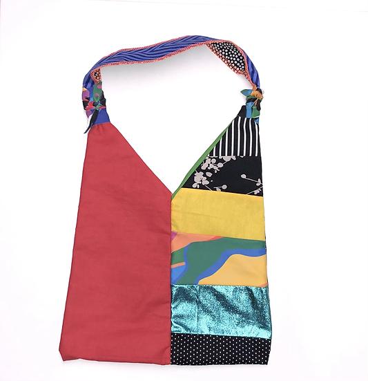 """Venus"" Medium Handbag - Handmade from fabric scraps"