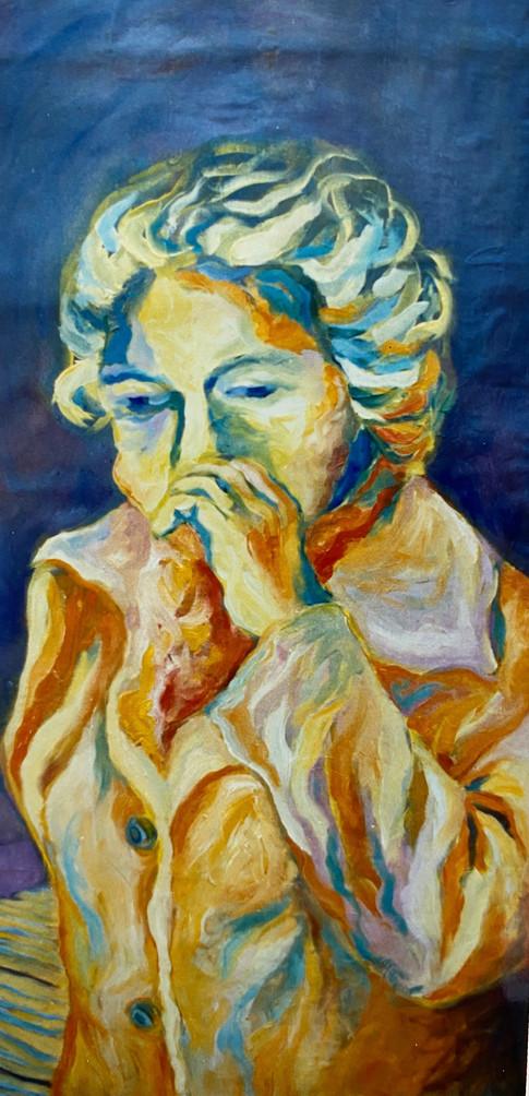ELDERY WOMAN (Serie: Los viejos)