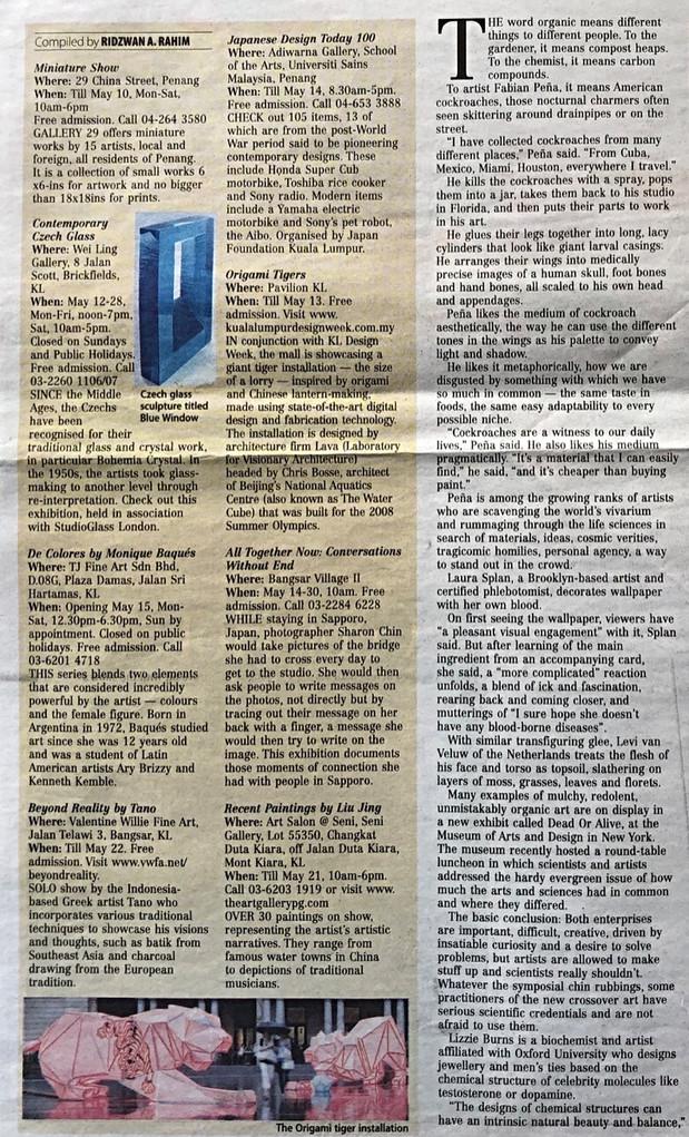 NEW SUNDAY TIMES newspaper