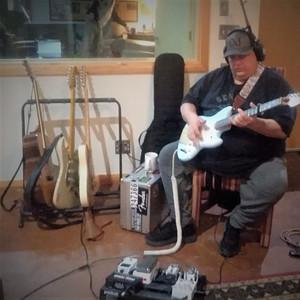 Anthony Pierce in studio