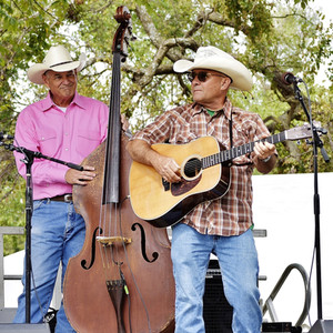 Steve Huhn and Bob Wiles at Oklahomas' International Bluegrass Festival