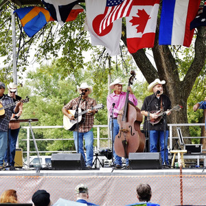 Cowboy Jones at Oklahomas' Intenational Bluegrass Festival
