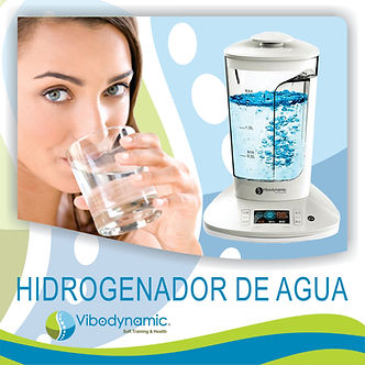 Hidrogenador de agua Franquicias Vibodynamic