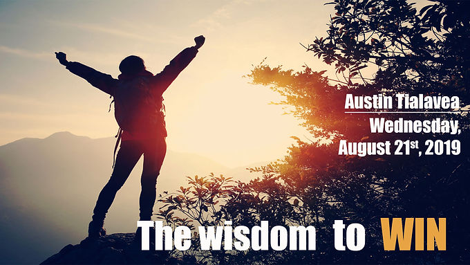 THE WISDOM TO WIN