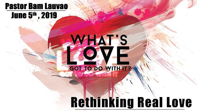 RETHINKING REAL LOVE