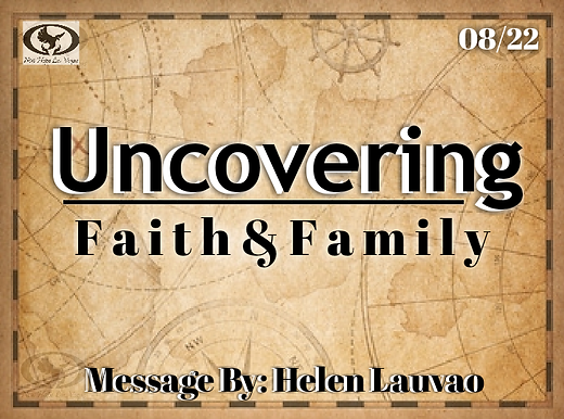 UNCOVERING FAITH & FAMILY