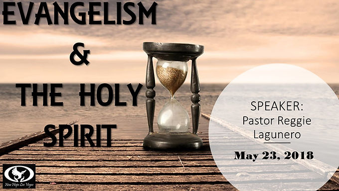 EVANGELISM & THE HOLY SPIRIT