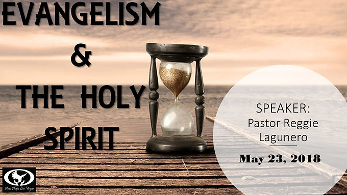 EVANGELISM & THE HOLY SPIRIT