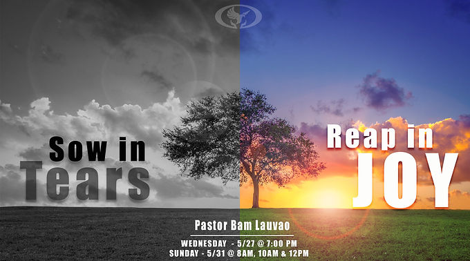 Sow in Tears, Reap in Joy by Pastor Bam Lauvao