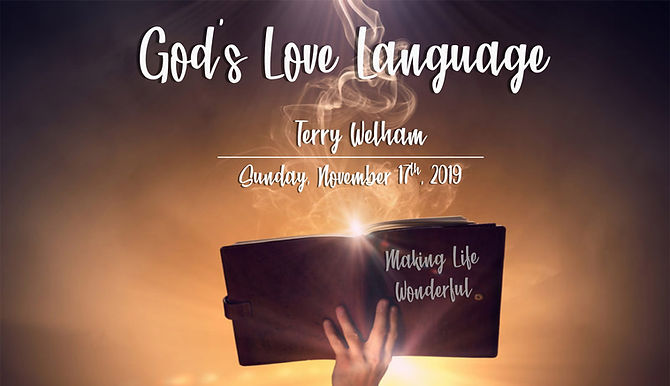 GOD'S LOVE LANGUAGE