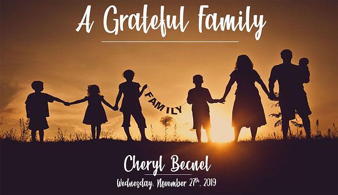 A GRATEFUL FAMILY