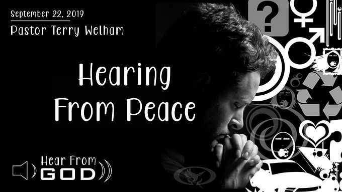 HEARING FROM PEACE