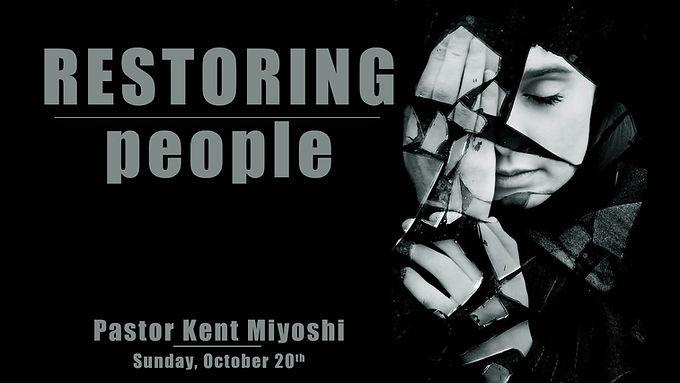 RESTORING PEOPLE