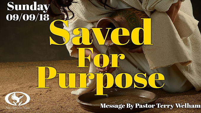 SAVED FOR PURPOSE