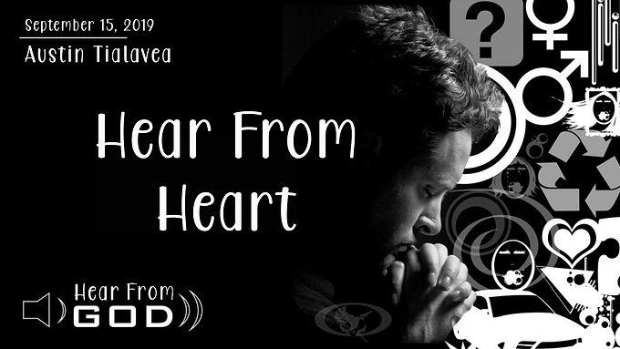 HEAR FROM HEART
