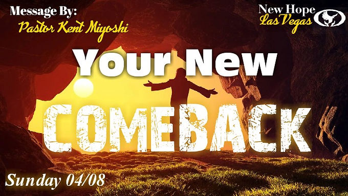 YOUR NEW COMEBACK