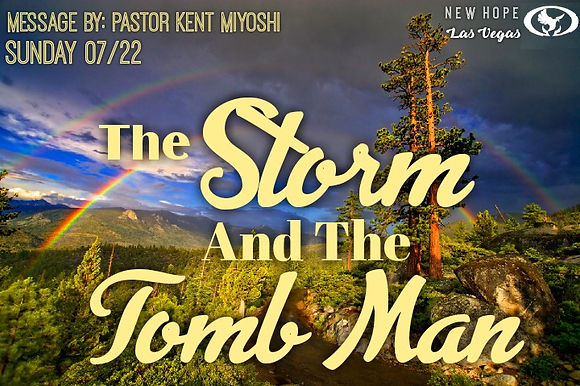 THE STORM AND THE TOMB MAN