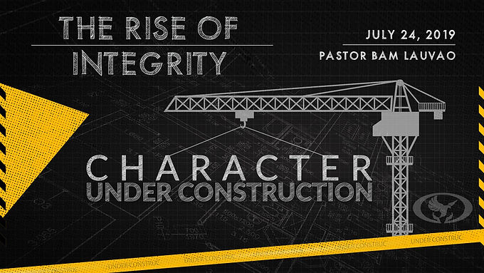 THE RISE OF INTEGRITY