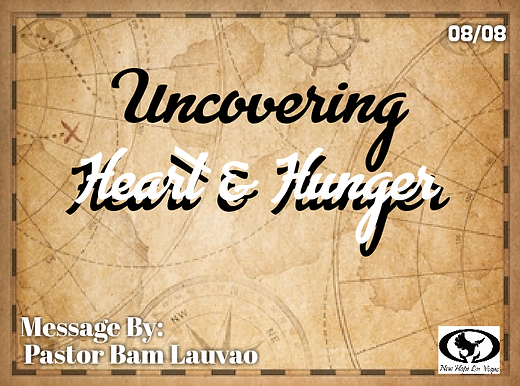 UNCOVERING HEART & HUNGER