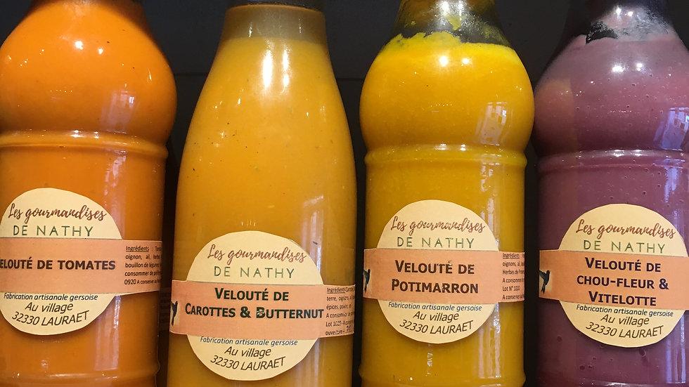 Potage aux légumes de saisons (50cl)