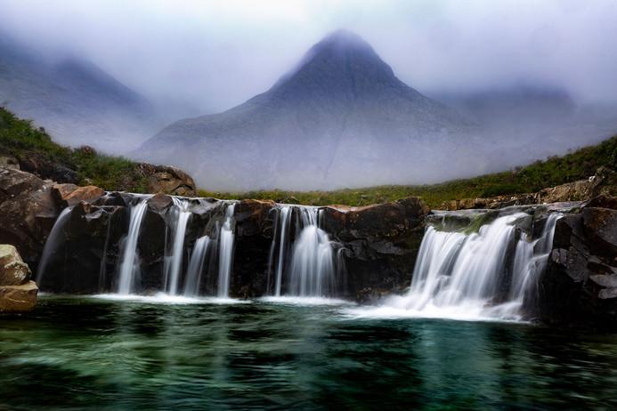 """Fairy Pools,"" Isle of Skye, Scotland"