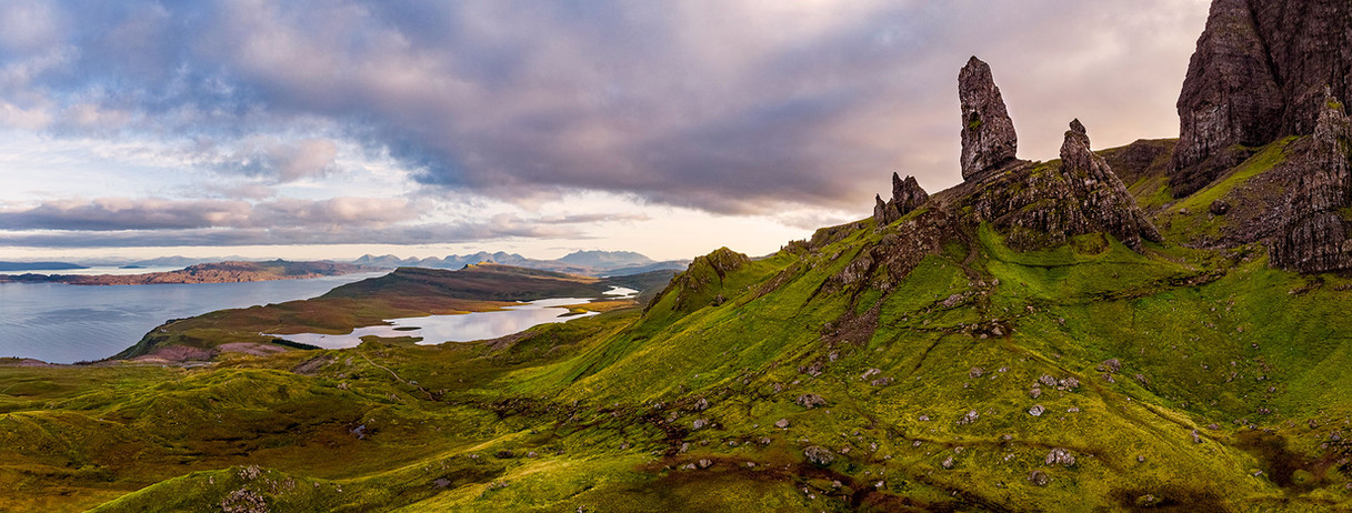 """Old Man of Storr,"" Isle of Skye, Scotland"