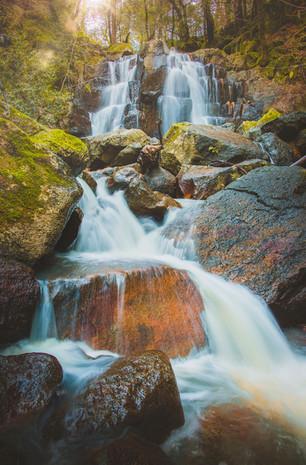 Linda Falls, Angwin