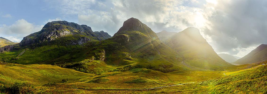"""The Three Sisters,"" Glencoe, Scotland"
