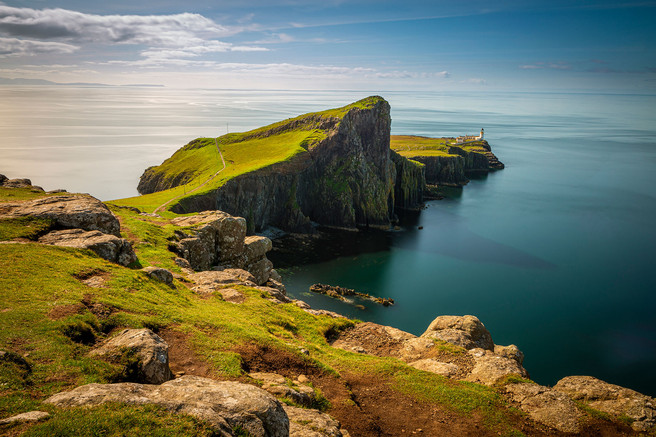 """""""Neist Point Lighthouse,"""" Isle of Skye, Scotland"""