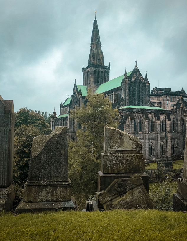"""Glasgow Cathedral,"" Scotland"