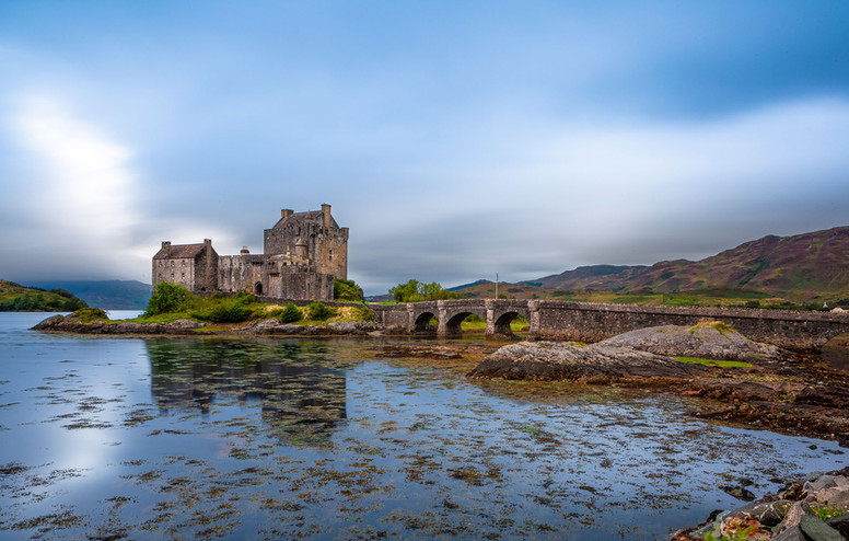 """Eilean Donan Castle,"" Isle of Skye, Scotland"