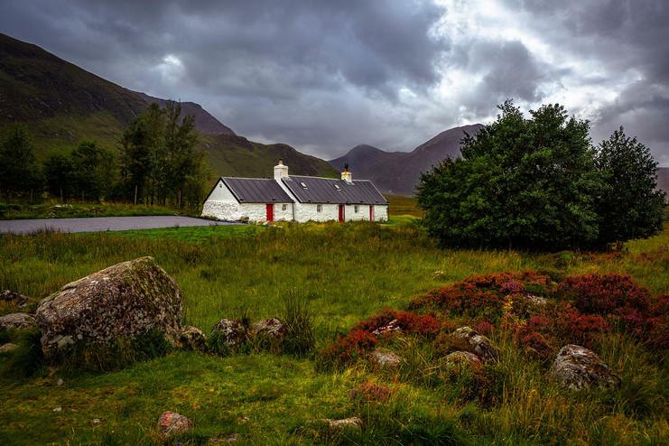 """Blackrock Cottage,"" Glencoe, Scotland"