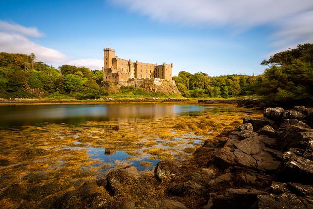 """Dunvegan Castle,"" Isle of Skye, Scotland"