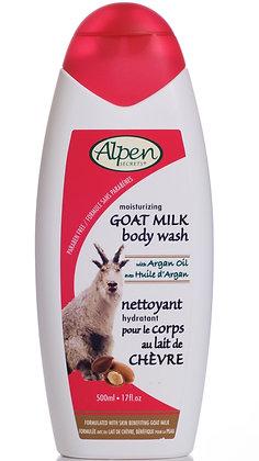Argan Oil Goat Milk Moisturizing Body Wash