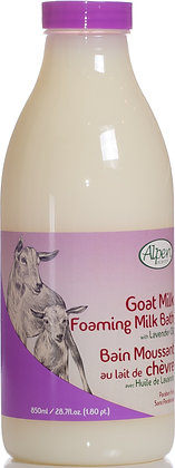 Lavender Goat Milk Foam Bath