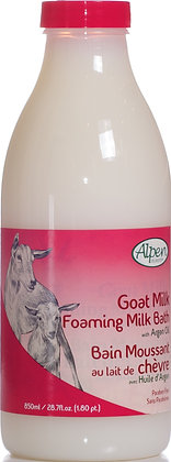 Argan Oil Goat Milk Foam Bath