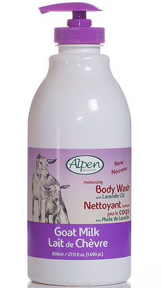 Lavender Moisturizing Goat Milk Body Wash