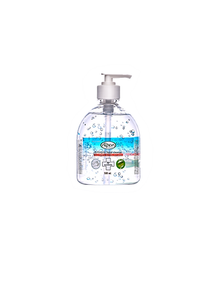 500mL Antiseptic hand cleanser with pump