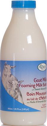 Almond Oil Goat Milk Foam Bath