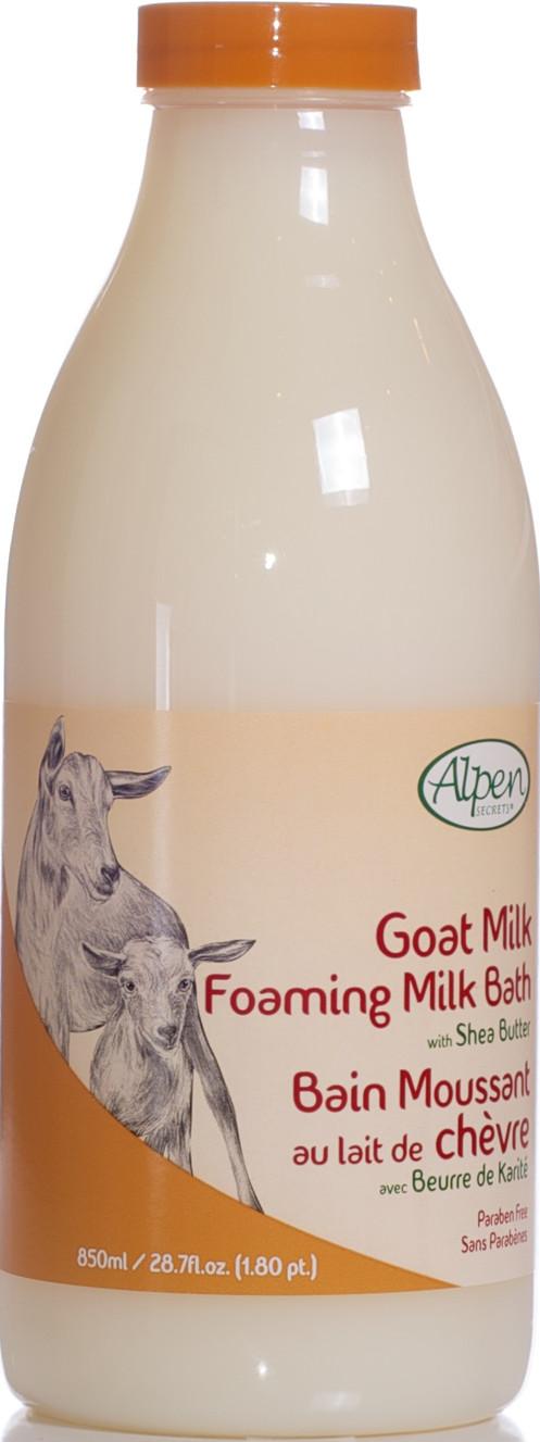 Shea Butter Goat Milk Foaming Milk Bath