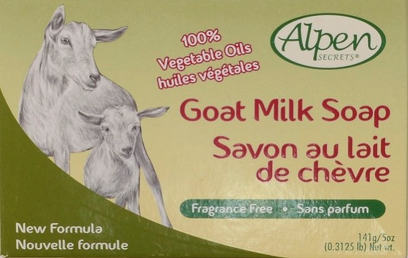 Fragrance Free Goat Milk Moisturizing Soap