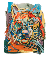 Bordalo II - Plastic Tiger