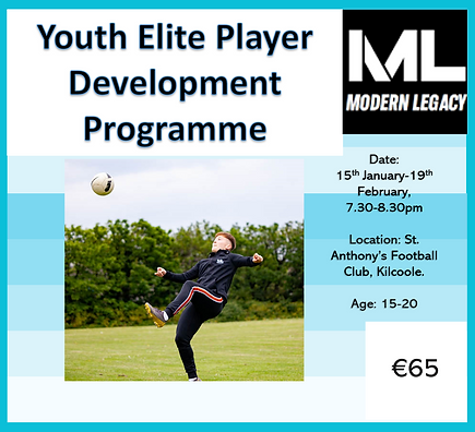 Youth Elite Player Development Programme