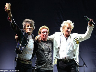 Not so new Faces! Ageing rockers Rod Stewart, Ronnie Wood, and Kenney Jones reunite their band after