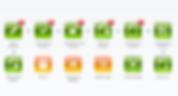screen grab showing webBXT customer interface