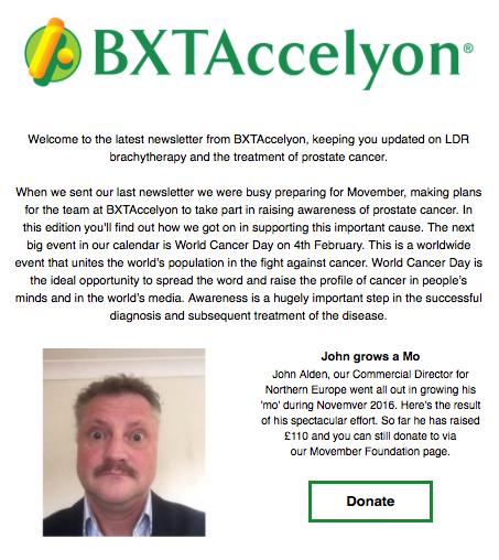 BXTAccelyon newsletter