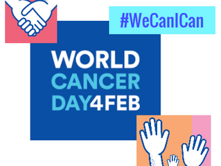 WORLD CANCER DAY - Let's Get Talking About Cancer